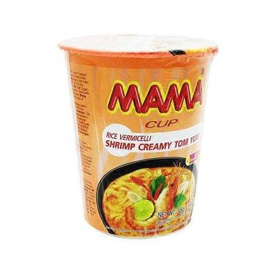 Mama Creamy Tom Yu Instant Rice Noddle Cup