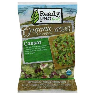 Ready Pac Organic Caesar Chopped Complete Salad Kit