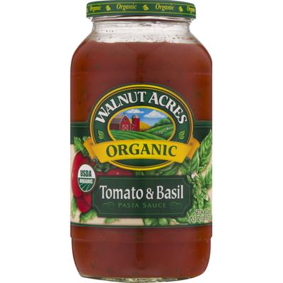 Walnut Acres Organic Tomato & Basil Pasta Sauce
