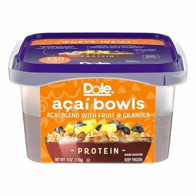 Dole Protein Açaí Bowls