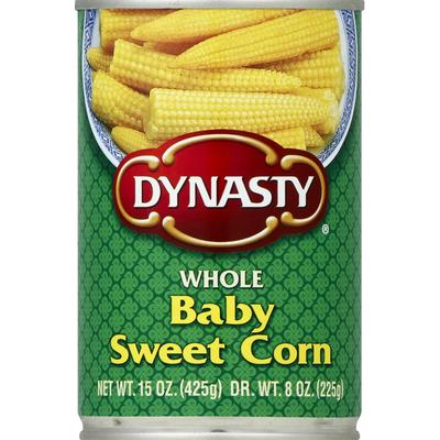 Dynasty Corn, Sweet, Baby, Whole