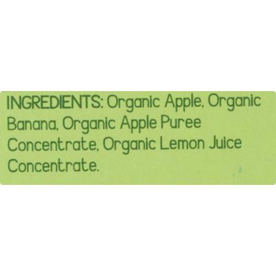 GoGo Squeez Applesauce, On the Go, Organic, Apple Banana