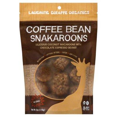 Laughing Giraffe Organics Macaroons, Coffee Bean Snakaroons