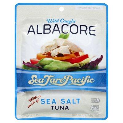 Sea Fare Pacific Tuna, Wild Caught Albacore, with a Touch of Sea Salt