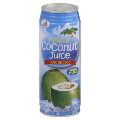 Three Elephants Coconut Juice, with Pulp
