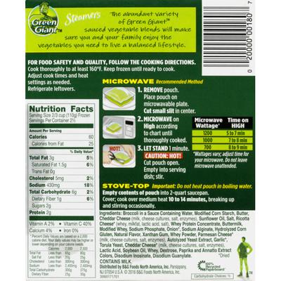 Green Giant Broccoli & Cheese Sauce