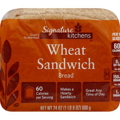 Signature Bread, Wheat Sandwich