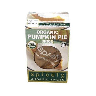 Spicely Organics Organic Pumpkin Pie Spice Seasoning