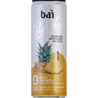 Bai Antioxidant Infusion, Sparkling, Peru Pineapple