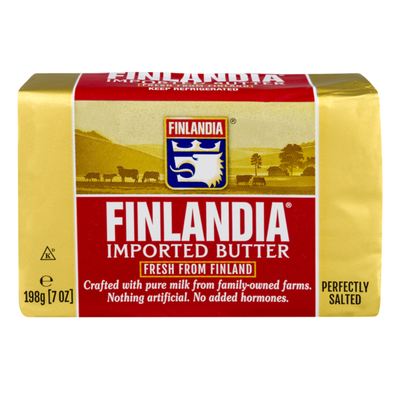 Finlandia Butter, Perfectly Salted, Imported