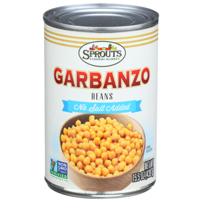 Sprouts No Salt Added Garbanzo Beans