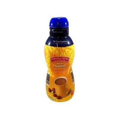 Friendly Farms Fat Free Hazelnut Coffee Creamer