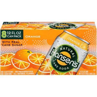 Hansen's Orange Natural Cane Soda