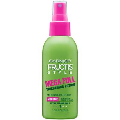 Fructis Style® For Visibly Fuller, Thicker Hair Full & Plush Mega Full Thickening Lotion