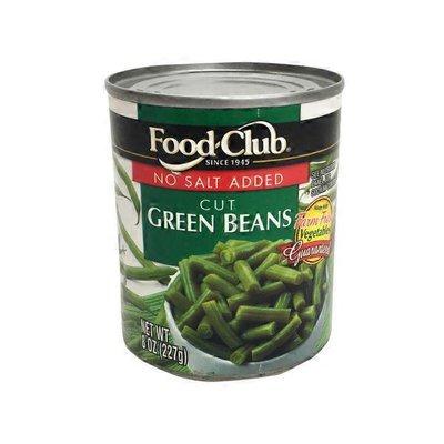 Food Club No Salt Cut Green Beans