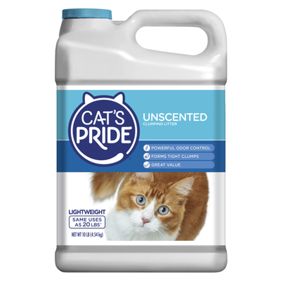 Cat's Pride Unscented Scoopable Lightweight Clumping Clay Cat Litter