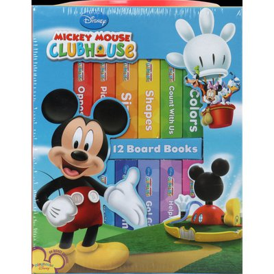 Disney Board Books, Mickey Mouse Clubhouse