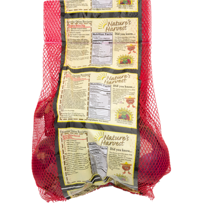 Red Onions Bag