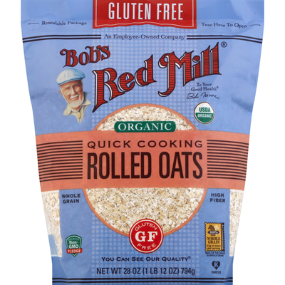 Bob's Red Mill Gluten Free Quick Cooking Oats, Organic