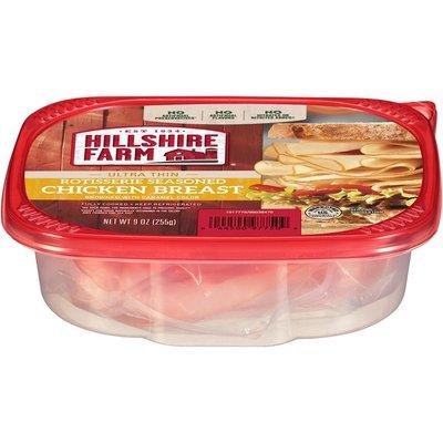Hillshire Farm Chicken Breast, Rotisserie Seasoned, Ultra Thin