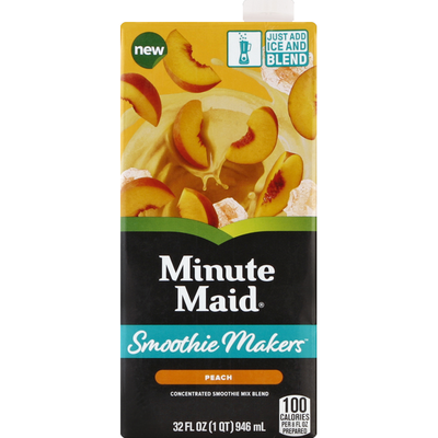 Minute Maid moothie Makers Peach Smoothie Mix
