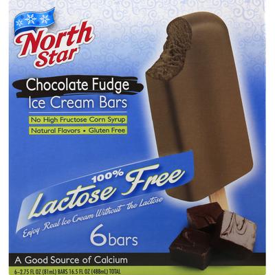 North Star Ice Cream Bars, Chocolate Fudge