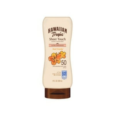 Hawaiian Tropic Sheer Touch SPF 50 Lotion Sunscreen