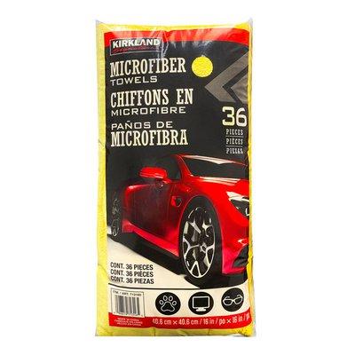 Kirkland Signature Microfiber Towel Ultra Plush, 36 Pack