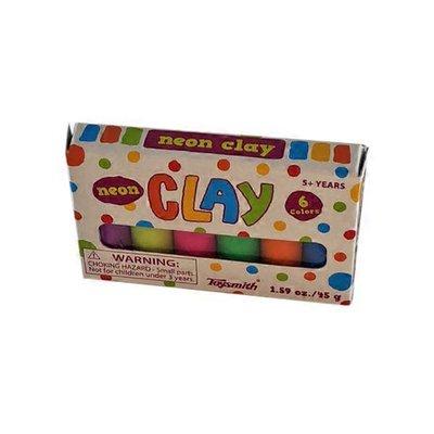 Toysmith Vibrant Colors Mini Clay Set
