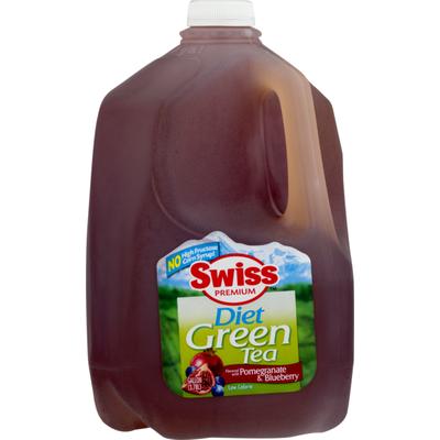 Swiss Premium Diet Green Tea Pomegranate & Blueberry