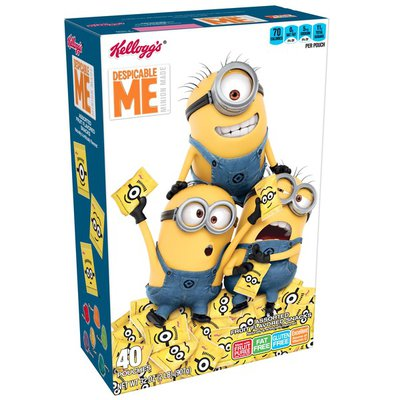 Kellogg's Despicable Me Fruit Flavored Snacks Assorted Fruit Flavored