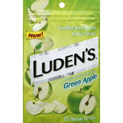 Luden's Throat Drops, Green Apple