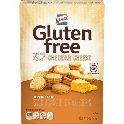 Lance® Gluten Free Cheddar Cheese Sandwich Crackers