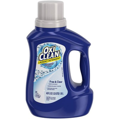 OxiClean Liquid Laundry Detergent, Free & Clear