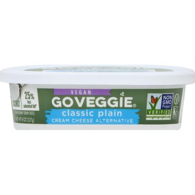 Go Veggie! Cream Cheese Alternative, Vegan, Classic Plain