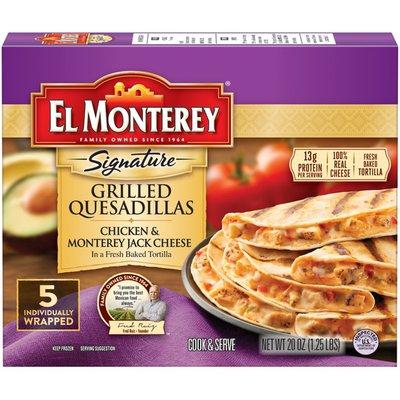 El Monterey Charbroiled Chicken & Monterey Jack Cheese Quesadilla