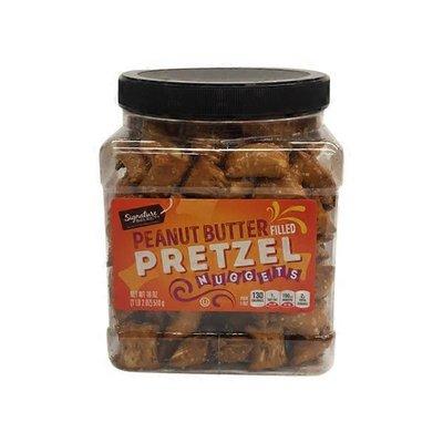 Signature Kitchens Pretzel, Peanut Butter Filled, Nuggets