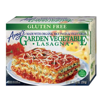 Amy's Kitchen Gluten Free Garden Vegetable Lasagna