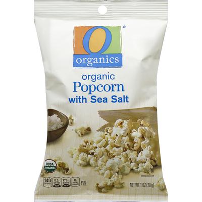 O Organics Popcorn, Organic, with Sea Salt