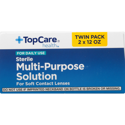 TopCare Multi-Purpose Solution, Sterile, Twin Pack