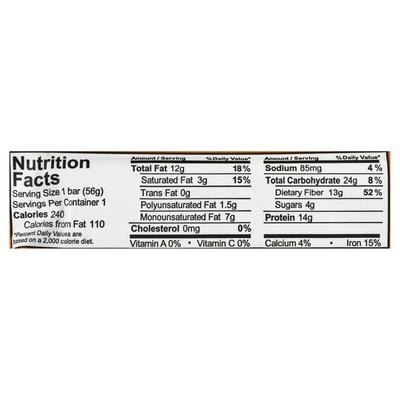 Aloha Shoyu Protein Bar, Organic, Peanut Butter Chocolate Chip