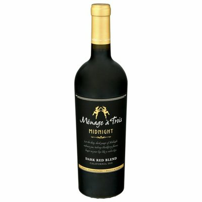 Menage a Trois Midnight Dark Red Wine Blend