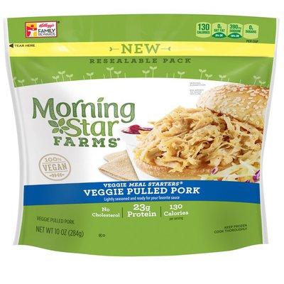 Morning Star Farms Veggie Meal Starters Veggie Pulled Pork