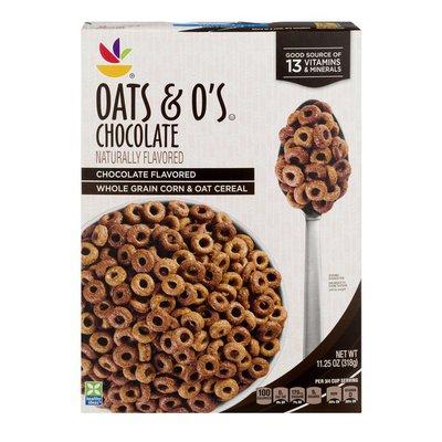 SB Whole Grain Corn & Oat Cereal Oats & O's Chocolate