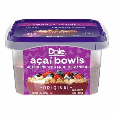 Dole Original Acai Bowls Blend With Fruit and Granola