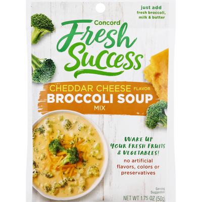 Concord Fresh Success Broccoli Soup Mix, Cheddar Cheese