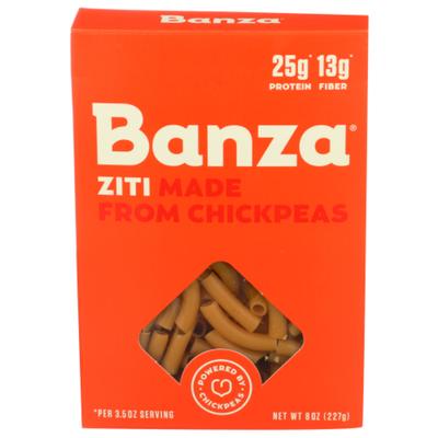 Banza Ziti, Made from Chickpeas