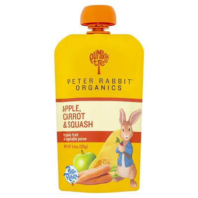 Peter Rabbit Organics Apple, Carrot & Squash