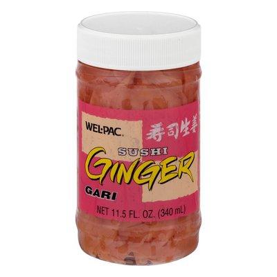 Wel-Pac Ginger, Sushi