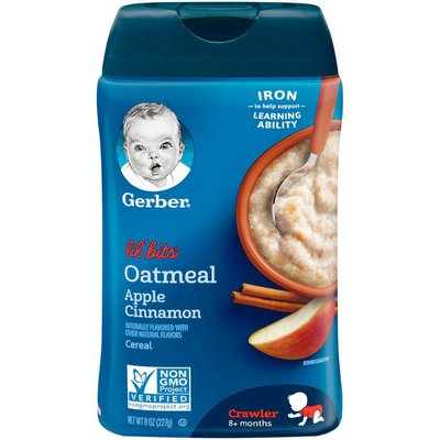 Gerber Oatmeal Apple Cinnamon Cereal